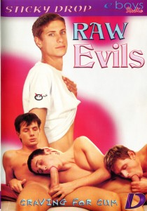 Raw Evils DVD
