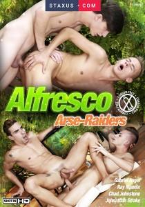 Alfresco Arse-Raiders DVD
