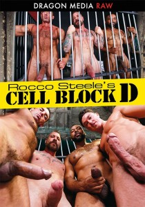 Rocco Steele's Cell Block D DVD