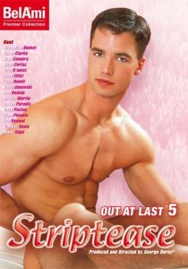 Out at Last 5: Striptease DVD (S)