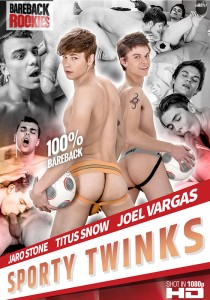 Sporty Twinks DVD